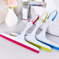 Glass Window Wiper Soap Cleaner Squeegee Shower Bathroom Mirror Cleaning Brush