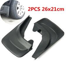 2PCS 26x21cm Black Universal Car SUV Mud Flap Splash Guards Fender Accessories