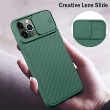 Case For iPhone 11 Pro Max XS XR X 8 7 6+ Luxury Slide Camera Protect Soft Cover