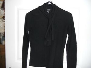 Lauren Hansen Black Cashmere Sweater small