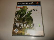 PLAYSTATION 2 PS 2 Metal Gear Solid 3: Snake Eater (5)