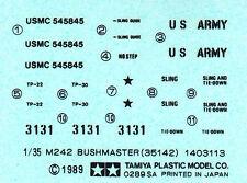 TAMIYA Decal  pour 35143 1/35 U.S.Hummer w/M242 Bushmaster