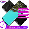 S10+ Unlocked Android 9.1 Smartphone Octa Core Cell Phone 1GB+8GB 2MP+8MP 6.GR