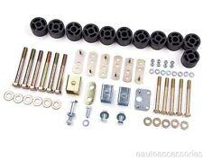 "1.25"" Body Lift Kit fits 97-06 Jeep Wrangler TJ/LJ Zone Offroad J9120"