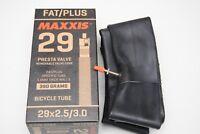 Fahrradschlauch Maxxis plus 29+x 2,5-3,0 384gr Ventil Presta abnehmbare/inner