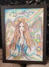 Rhiannon Art Inspired by Stevie Nicks - 20 x 15 - Beautiful Art