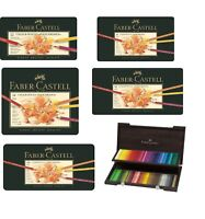 Faber Castell Polychromos pencils tins of 12 24 36 60 and 120 Faber-Castell