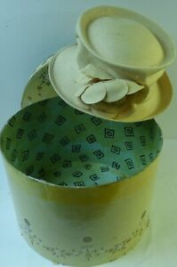 Philip Treacy British Hat Guild 100% Silk Hat +Gift Box 57cm Head Circumference