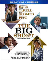 The Big Short (Blu-ray) DISC ONLY NO CASE NO ART UNUSED CONDITION SHIPS FAST