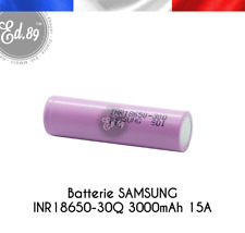 Genuine Samsung 30q 15a 3000mah 18650 Battery (1 Battery)
