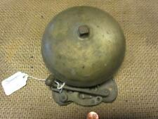 Vintage Brass Boxing Bell > Antique Sports Old Iron Box School Fire Bells 7078