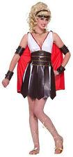 Sexy Roman Warrior Gladiator Gladiatrix Adult Costume M/L 8-12 Sexy Closeout