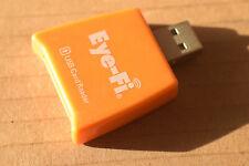 Eye-Fi portable usb SD memory card reader flash SDHC orange camera storage