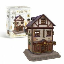 OFFICIAL HARRY POTTER DIAGON ALLEY QUIDDITCH SUPPLIERS 3D PUZZLE GAME MODEL *