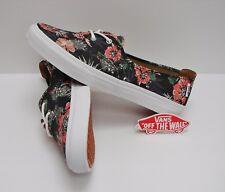 Vans Solana SF Desert Floral Black VN0004LJKAK Women's Size: 5.5