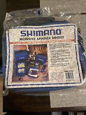 Shimano Fishing Tackle Binder New!
