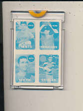 1969 Topps 4 in 1 Proof Card Dave Baldwin, Dave May, JC Martin, Ray Sadecki bl