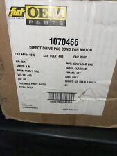Fast OEM Parts 1070466 Direct Drive PSC Condenser Fan Motor 3/4 HP 1100 RPM New