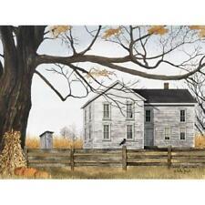 Billy Jacobs Harvest Time Fall Pumpkin Farm Art Print 16 x 12