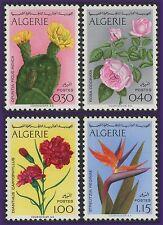 ALGERIE N°568/571** Fleurs, 1973 Algeria Flowers MNH