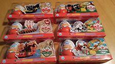 2 Stück 3 x 3-er Pack Kinder Joy Collection HUNDE + Schiffe TESTWARE Ferrero It.