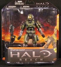 Halo Reach Ser. 1 Spartan Hazop custom (male) Olive / Steel HARD TO FIND