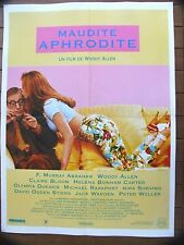AFFICHE - MAUDITE APHRODITE WOODY ALLEN