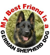 2 German Shepherd Dog Car Stickers By Starprint