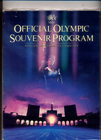 Official 1984 Olympic Souvenir Program Los Angeles  MBX70