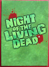 NIGHT OF THE LIVING DEAD - Card #01 - Header Card - Unstoppable Cards 2012