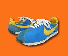 Vintage 70's NIKE Waffle Trainer Blue Original Survivors Cortez Sneakers Shoes