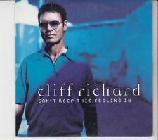 CLIFF RICHARD Can't Keep This Feeling In 2 tr CARDslv CD SINGLE EMI HOLLAND