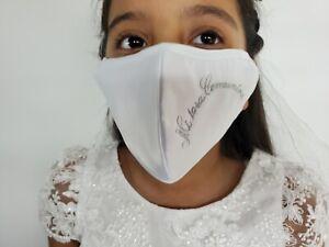 first Communion mask . Máscara Para Primera Comunión.
