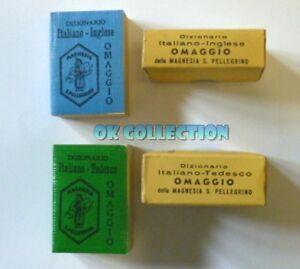Vecchi Gadget Pubblicitari del 1955 - MINI DIZIONARIO MAGNESIA SANPELLEGRINO.