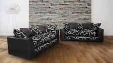 Striped Contemporary Double Sofas