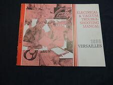 Ford Versailles 1980 Wiring diagram Electrical manual Schaltpläne Handbuch