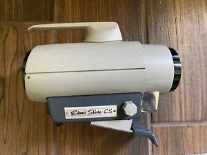 Elmo Slide CS Projection Lens. Projection Lamp. Vintage