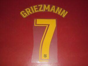 NAMESET FLOCAGE OFFICIEL GRIEZMANN FC BARCELONE HOME 2020/2021