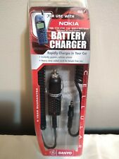 Sanyo Car Charger for NOKIA  Sanyo #40451 New Old Stock
