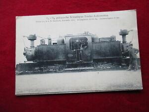 AK Dampflok Schmalspur-Tender-Lokomotive