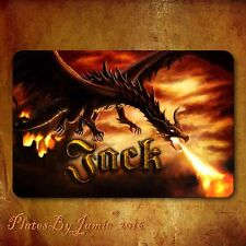 Personalized Custom Any Name Dragon  Childs Room Door SIGN Wall Plaque New