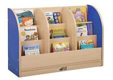 Childrens/Kids Wooden Bookcase Rack Storage Nursery School Bedroom/Playroom