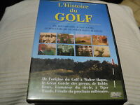 "DVD ""L'HISTOIRE DU GOLF"" documentaire"