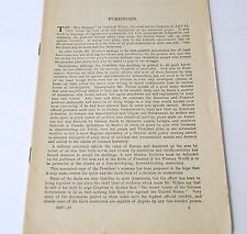 WWl War Message of President Wilson April 2nd 1917 Forward By Guy Stanton Ford