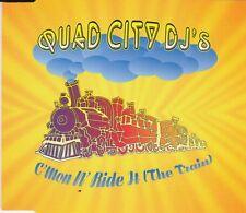 QUAD City DJ 's-C' MON N RIDE IT CD MAXI/NUOVO!!!