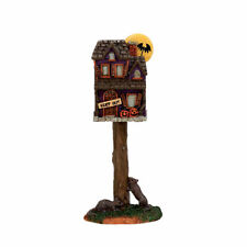 LEMAX SPOOKY TOWN HALLOWEEN VILLAGE HOUSE ACCESSORIES - FULL MOON BIRDHOUSE