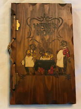 Vintage 1941 Here'S How Mixed Drinks ~ Bartender ~ Recipe Book ~ Wood Cover