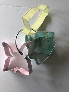 Kitchencraft Set Of 3 Easter Cookie Cutters