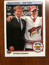 2018 UD Hockey Draft Day Top Draft Pick #Draft-49 Wayne Gretzky-Kyle Turris SSP