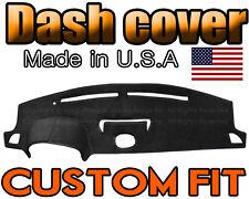 Fits 2003-2006 INFINITI G35 WITH CLOCK  DASH COVER MAT DASHBOARD PAD / BLACK